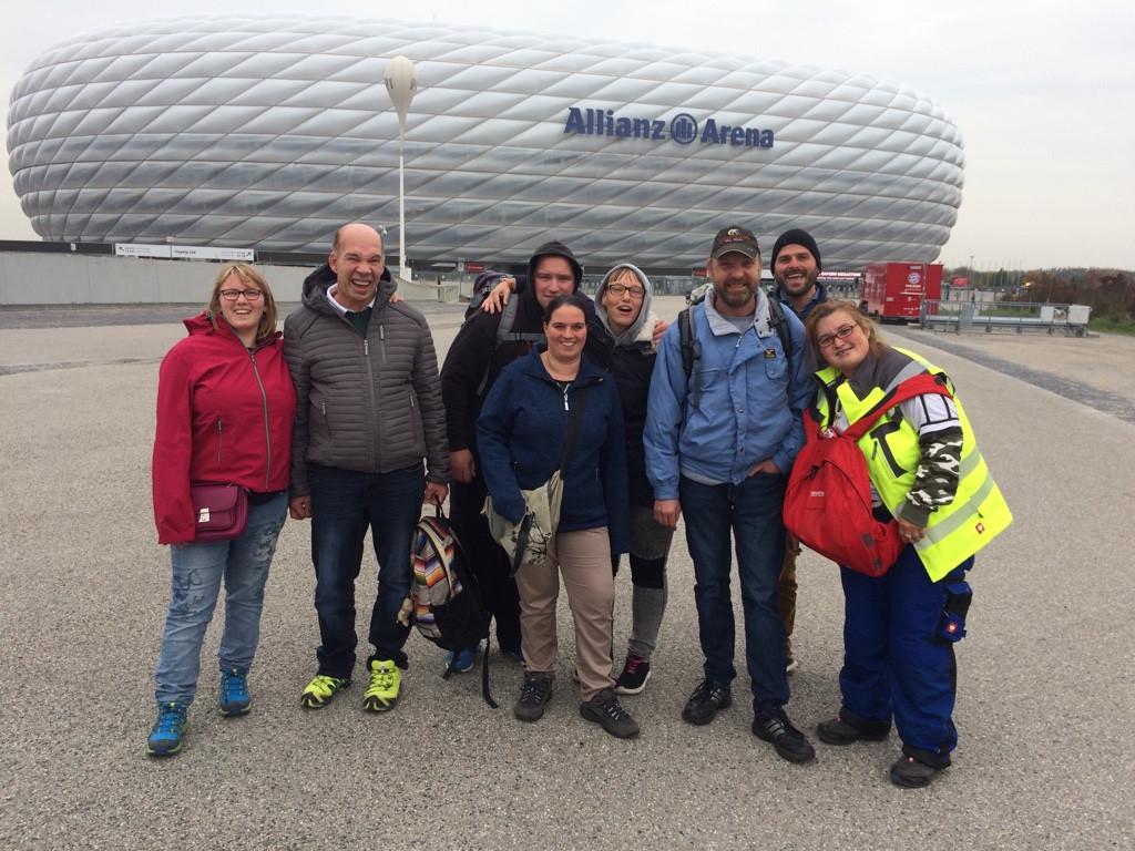 Das Ambulant unterstützte Wohnen in der Fußball Arena
