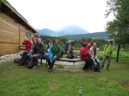 Alpaka Wanderung mit der rOBA