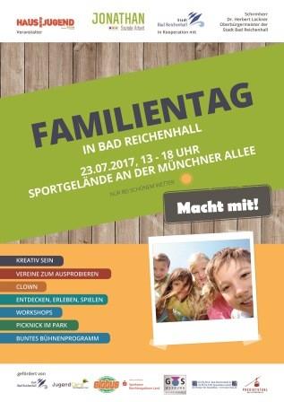 Familientag am Haus der Jugend in Bad Reichenhall